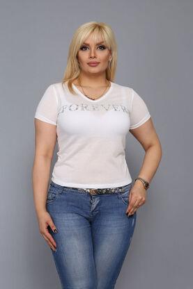 Forever Taşlı T-shirt